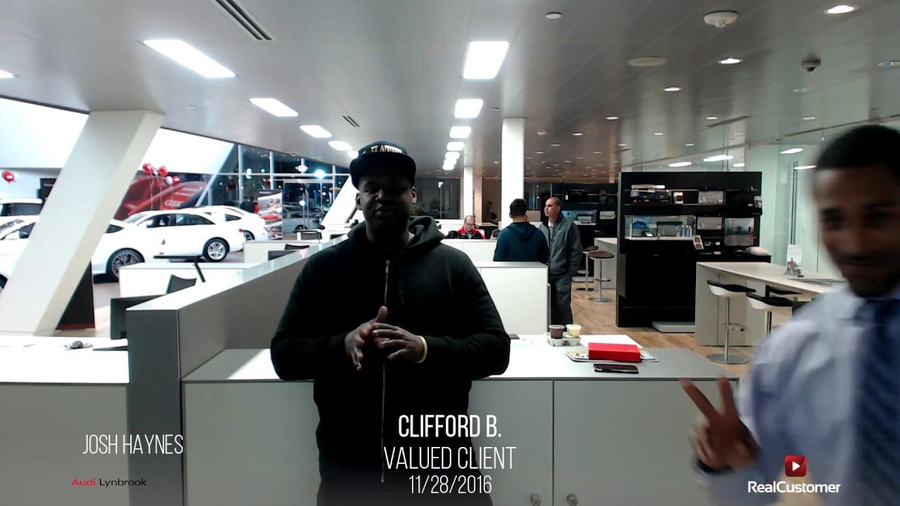 Clifford Reviews Audi Of Lynbrook And Josh Haynes YouTube - Lynbrook audi