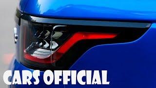 BLUE RANGE ROVER SPORT SVR IN ACTION: TEST DRIVE, INTERIOR, EXTERIOR