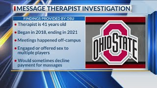 OSU football players targeted by massage therapist