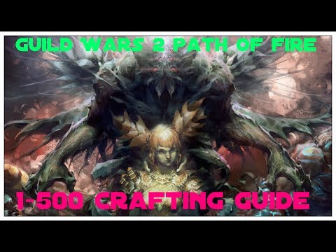 Guild Wars 2 - Crafting 1-500 Fast