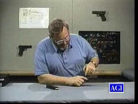(Old Version) Glock Pistol  Armorer's Course: Function, Repair, Disassembly and More-AGI 106