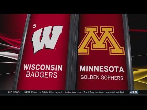Wisconsin at Minnesota - Football Highlights