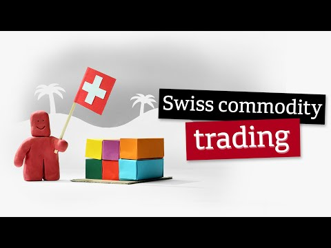 Why is Switzerland important in the commodity trading sector?
