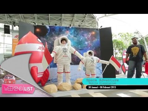 Weekend List - Space Adventure: Mobile Planetarium, Gandaria City