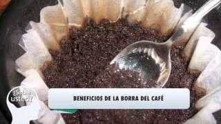 Beneficios de la borra del café