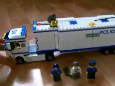 Lego camion de police 2014 youtube - Lego camion police ...