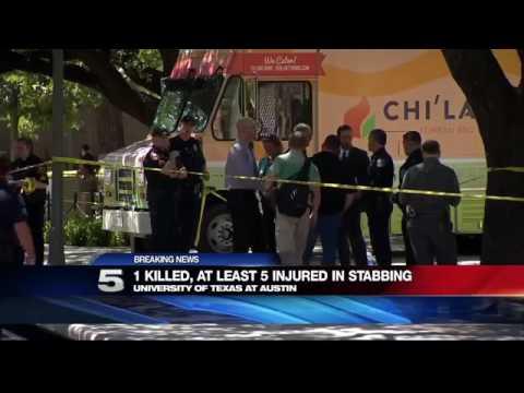 Several Injured, 1 Dead after Stabbing at UT Austin Campus