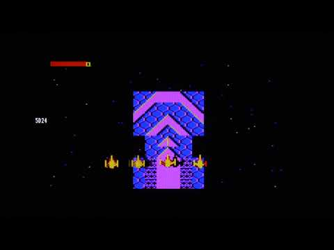Acorn BBC2DVI 'alfa' demo (Frak, Firetrack, Fortress, Labyrinth)