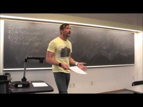 Particle Physics Topic 13: Interactions via Local Gauge Invariance (The Abelian Case)