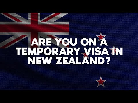 Are you on a temporary visa in New Zealand?