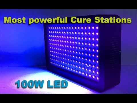 Most powerful SLA / DLP resin Curing stations / chamber , cheaply DIY