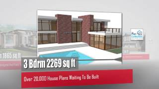 Modern House Plans From The Plan Collection