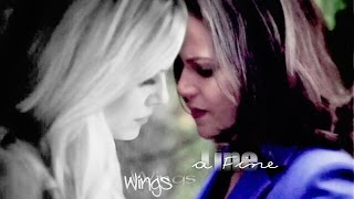 emma + regina | a fine line ~ wings