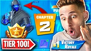 ΞΕΚΛΕΙΔΩΣΑ ΟΛΟ ΤΟ CHAPTER 2 BATTLE PASS! (Fortnite 2 Greek)