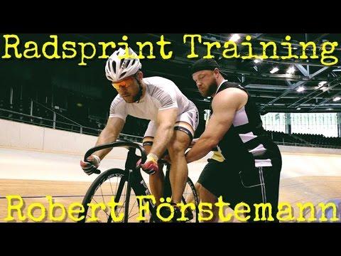 Radsprint Training - Robert Förstemann