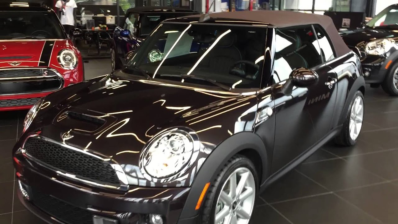 2015 Mini Cooper S Convertible High Gate Edition Youtube