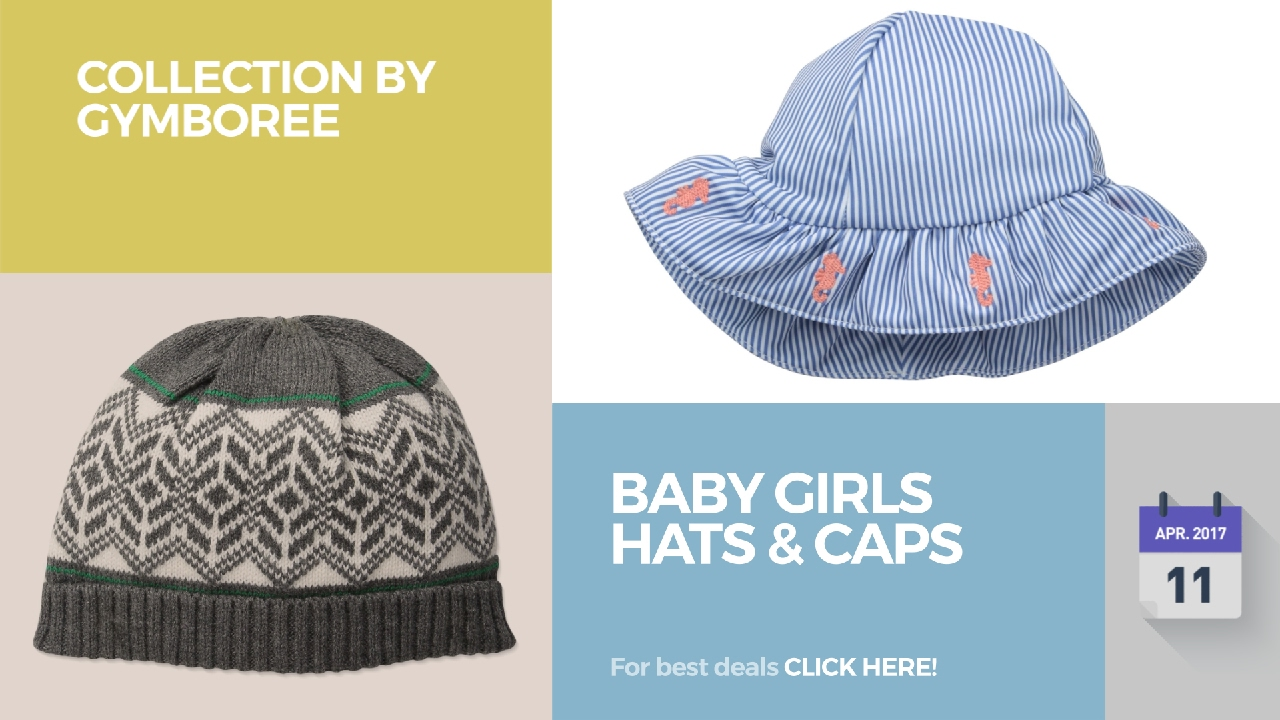 Baby Girls Hats   Caps Collection By Gymboree - YouTube 6d46702ccbef