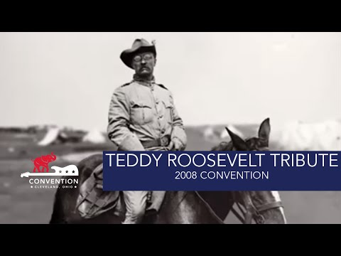 Teddy Roosevelt | 2008 Republican National Convention