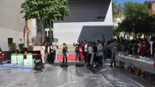 2011年4月9日、スペイン・バルセロナで行われた、絵本作家・五味太郎さ...