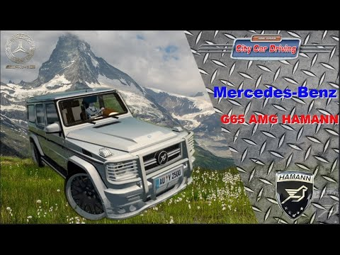 City Car Driving 1.5.9 - Mercedes-Benz G65 AMG HAMANN