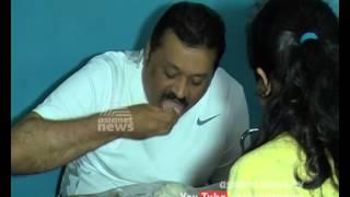 Mutton Soup Kazhikkan Suresh Gopi - Suresh Gopi Visit Aruvikkara