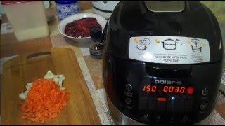 Домашние видео рецепты - тушеная куриная печень в мультиварке