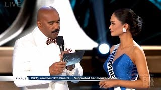 Pia Wurtzbach on US presence, being Miss Universe