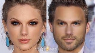 How Female Celebs Would Look Like If They Were Male?
