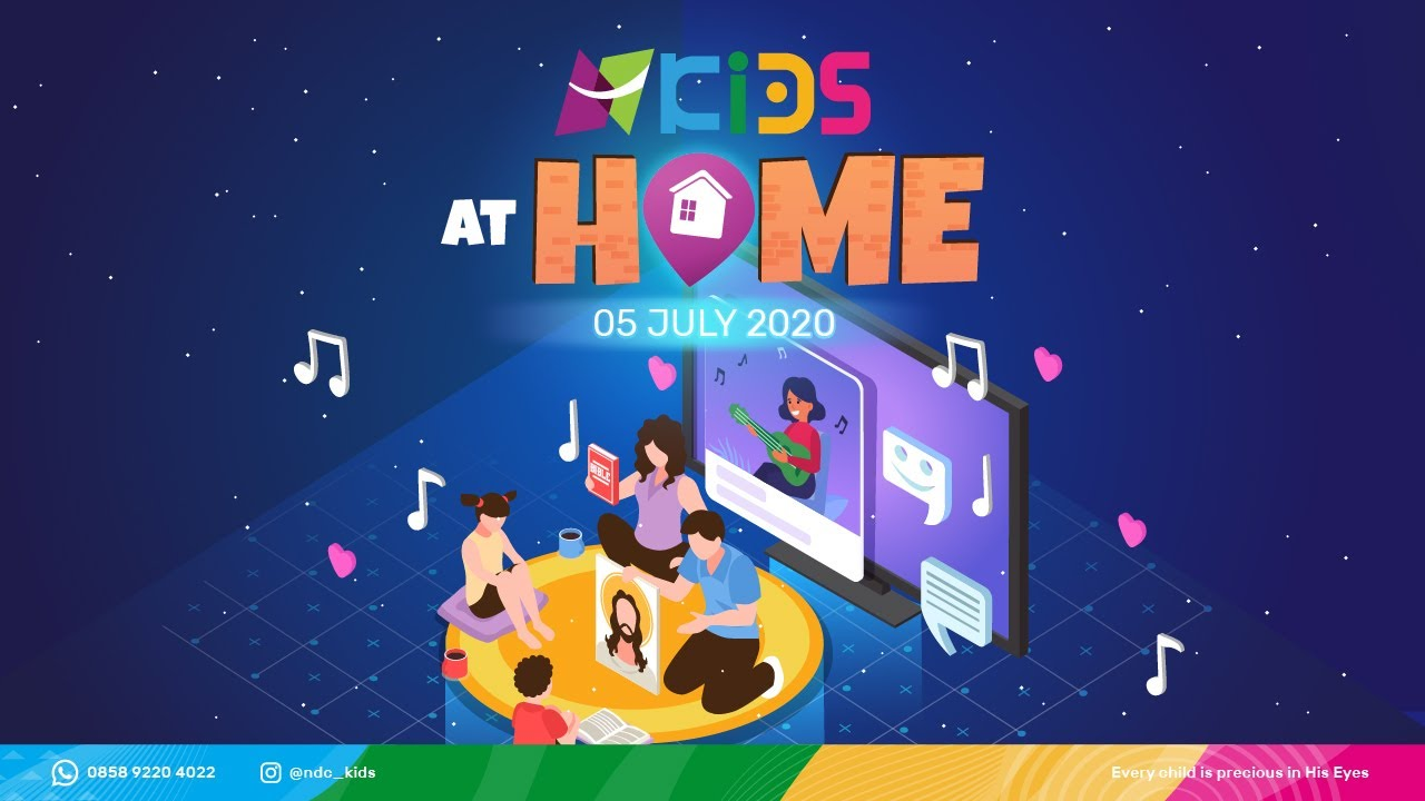 NDC Kids at Home - Sunday, 05th July 2020
