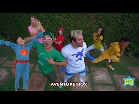 Clipe: Ser Aventureiro Com Aventureiro Verde-Claro (Lucas Marques)