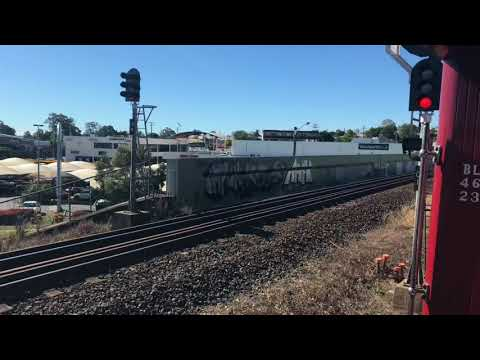 Steam train to Fishermans island and Pinkenba (Buranda to the Port of Brisbane)