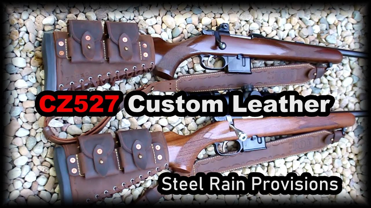 CZ527 custom leather work BEAUTIFUL!