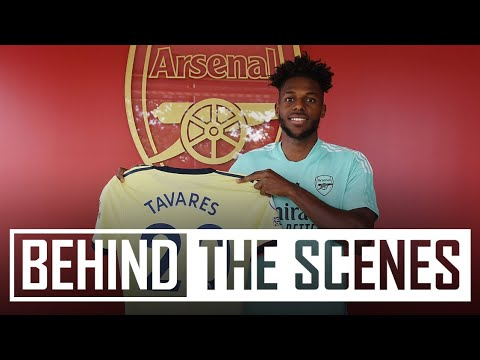 Nuno Tavares' first day at Arsenal   Behind the scenes on signing day