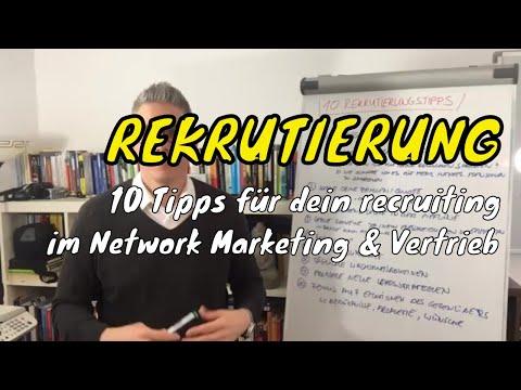 Rekrutierung - 10 PraxisTipps für dein recruiting im Network Marketing & Vertrieb