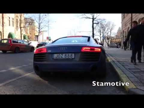 Cars in Stockholm - (Turbo S, R8, Maserati etc)