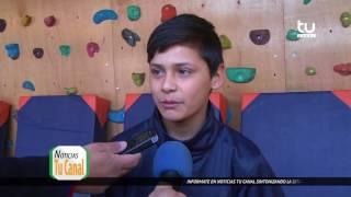 Nuevo Muro de Escalada - Escuela Ernesto Soto Negrete, Colina.