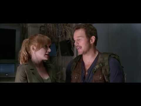 "Jurassic World: Fallen Kingdom (2018) Blu-ray Extra"" On Set with Chris & Bryce"" HD"