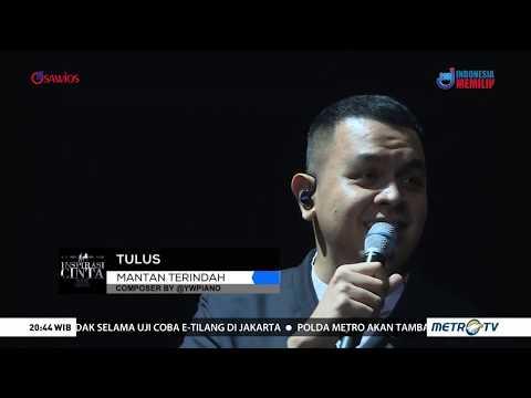 Tulus - Mantan Terindah Medley Janji Suci Live On Konser Inspirasi Cinta Yovie & His Friends