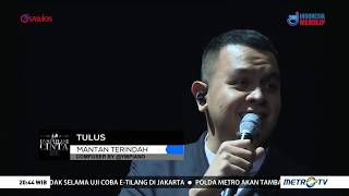 Tulus - Mantan Terindah medley Janji Suci live on Konser Inspirasi Cinta Yovie & His Friends