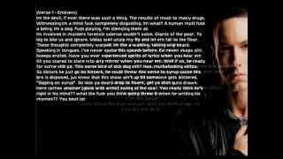 Eminem Ft. Kendrick Lamar - Out Of Town (Lyrics On Screen)