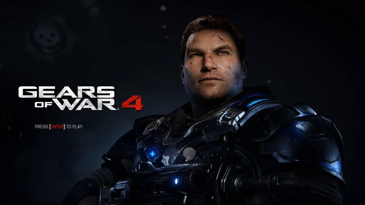 Gears Of War 4 Title Screen Video Background Wallpaper