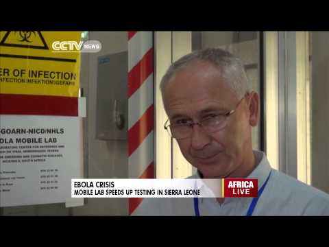 Ebola: Mobile Lab Speeds Up Testing In Sierra Leone