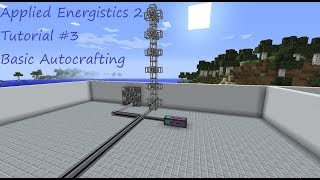 Minecraft Applied Energistics Tutorial #3 Basic Autocrafting | German