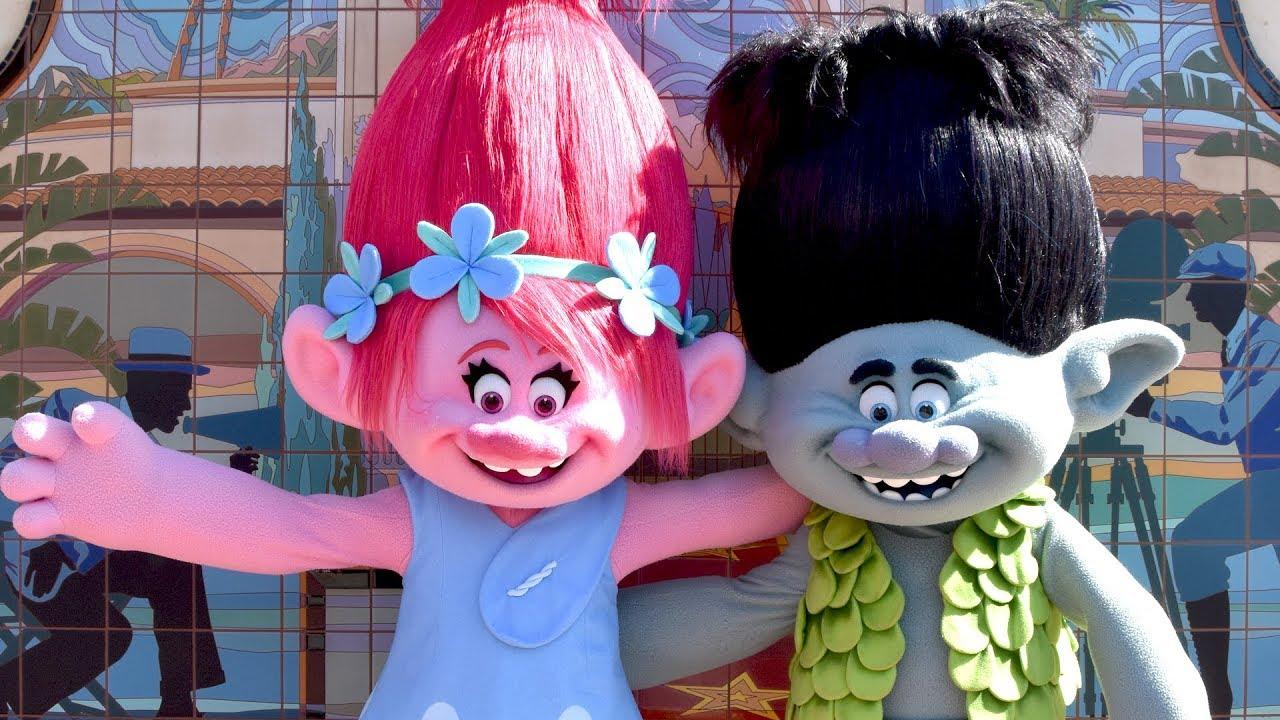 Trolls Poppy And Branch Meet Greet At Universal Studios Hollywood