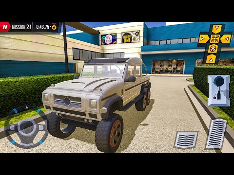Shopping Mall Car & Truck Parking (6 Wheeler) -Android Gameplay FHD