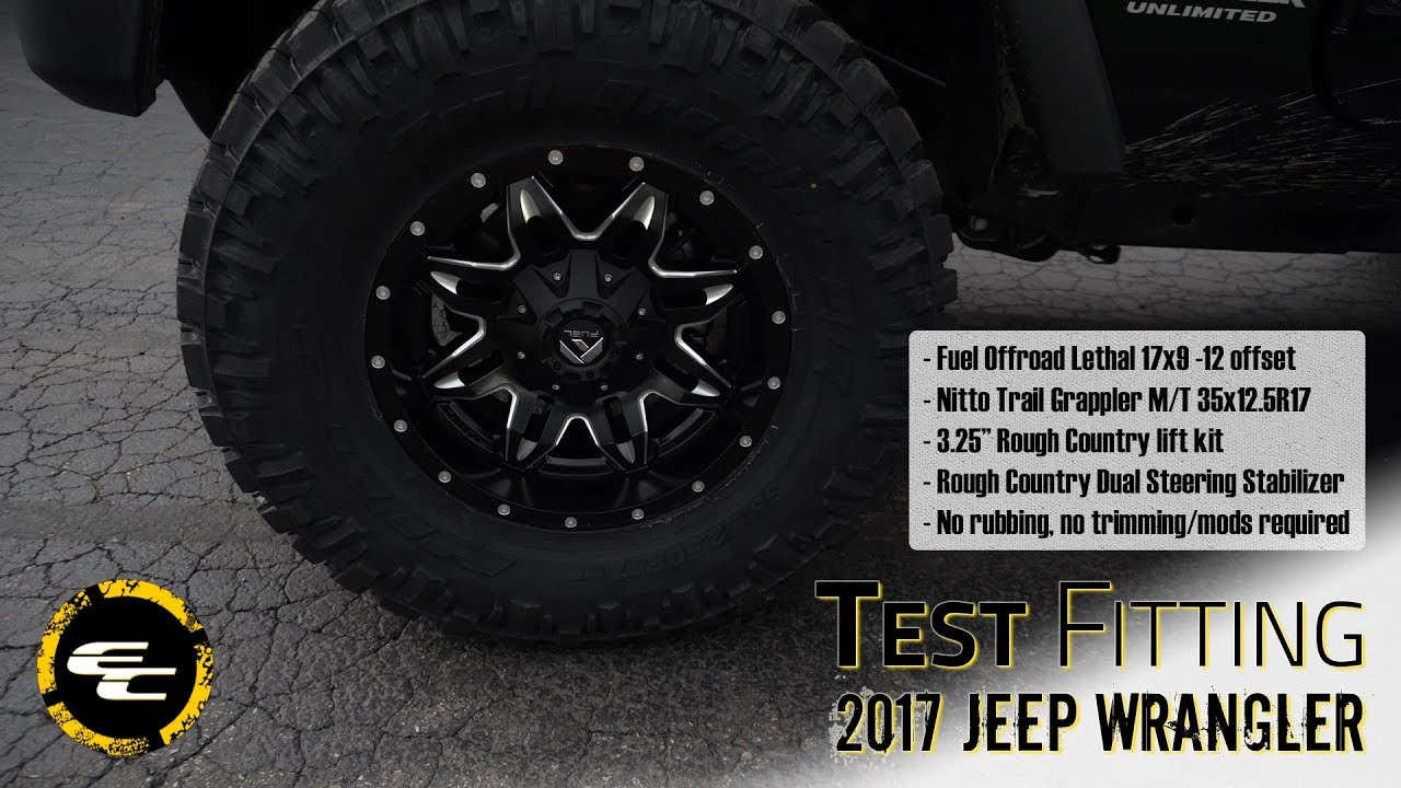 8fd102d5133 Test Fitting - Lifted 2017 Jeep Wrangler w  17