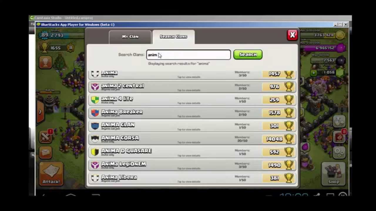 Invite Coc Clan Without Facebook Friend Youtube