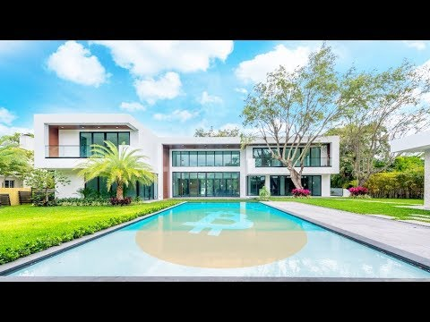 THIS MANSION IS FOR SALE: BITCOIN ONLY