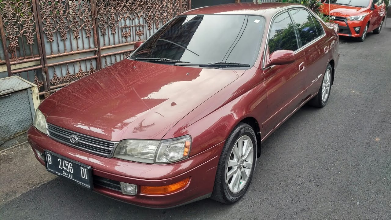 hight resolution of in depth tour toyota corona absolute 2 0 1993 indonesia
