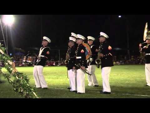 USMC Forces Pacific Band Kanekoe in Tonga 2011
